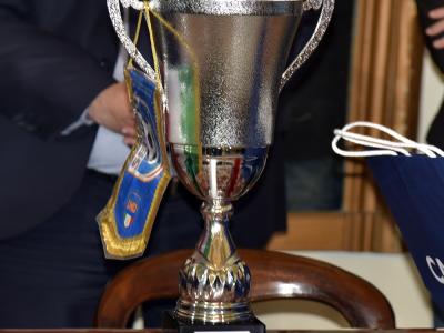 Premiazione Taranto F.C. 1927 da parte della LND Puglia